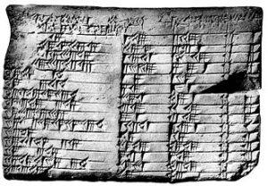 historical spreadsheet